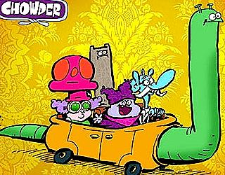 Chowder Cast
